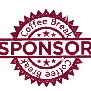 Coffee Break Red Sponsor Icon