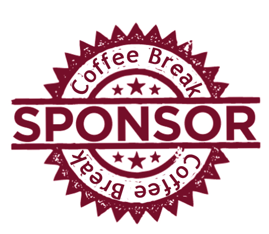 Coffee Break Red Sponsor Icon