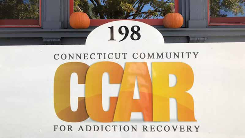 CCAR Hartford Recovery Community Center Front Sign