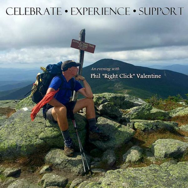 """Phil """"Right Click"""" Valentine On Top of The Mountain Pondering New Words"""